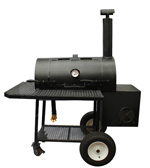 "36"" Lang BBQ Smoker Cooker"