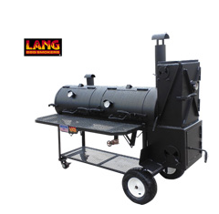 HYBRID smoker cooker and charcoal grill unit