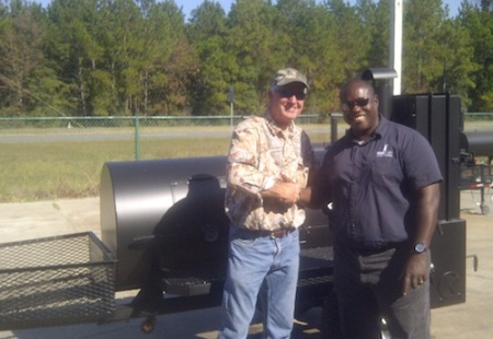 bought a new Lang 84 Deluxe Smoker Cooker