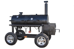smoker cooker with D-ring