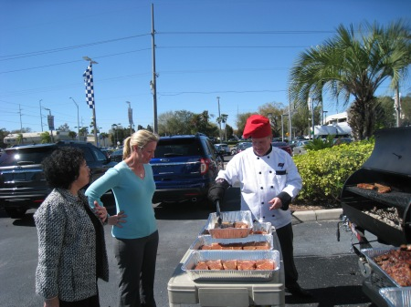 BBQ at Pete Currie Ford in Tampa FL